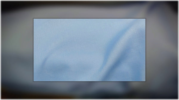 Glenarm - Cool Blue - 100% linen fabric - irish linen - john hanna limited - bairdmcnutt