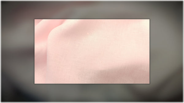 Glenarm - Light Pink - 100% linen fabric - irish linen - john hanna limited - bairdmcnutt