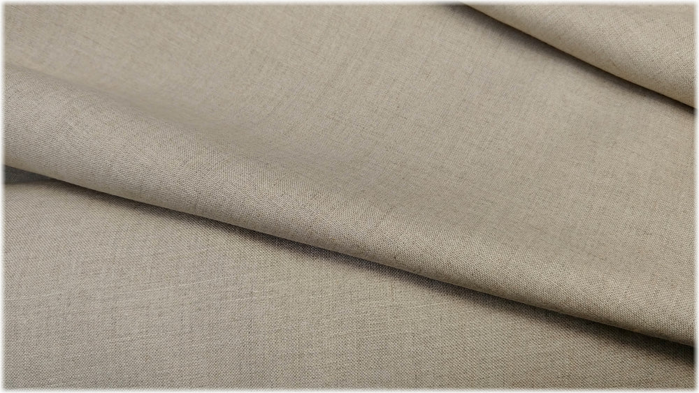 Glenarm - Natural - 100% linen fabric - irish linen - john hanna limited - bairdmcnutt