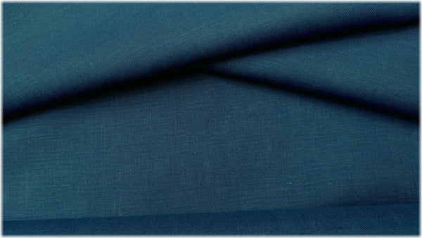 Glenarm - Borage Blue - 100% linen fabric - irish linen - john hanna limited - bairdmcnutt