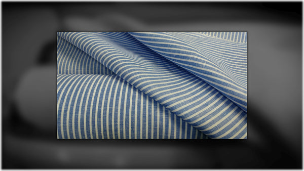 Errigal Stripes - 100% linen fabric - irish linen - john hanna limited - bairdmcnutt