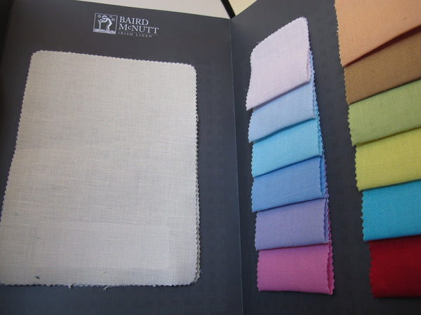 Sample Brochure - Milltown & Glenarm - 100% linen fabric - irish linen - john hanna limited - bairdmcnutt