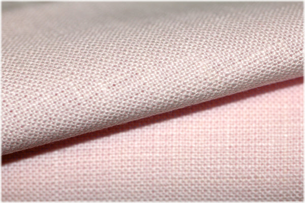 Milltown - Light pink - 100% linen fabric - irish linen - john hanna limited - bairdmcnutt