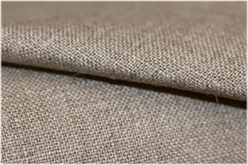 Milltown - Natural - 100% linen fabric - irish linen - john hanna limited - bairdmcnutt