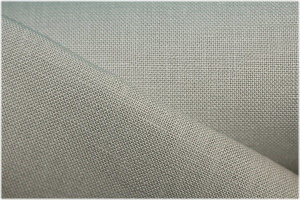 Milltown - Pure Grey - 100% linen fabric - irish linen - john hanna limited - bairdmcnutt