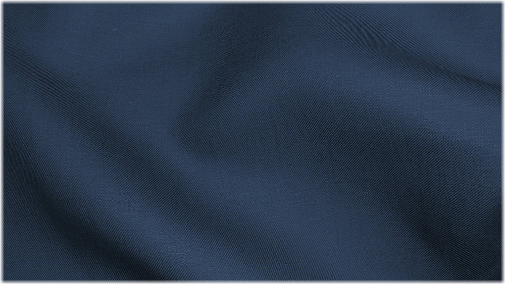 Parkgate Twill - Blueberry - 100% linen fabric - irish linen - john hanna limited - bairdmcnutt