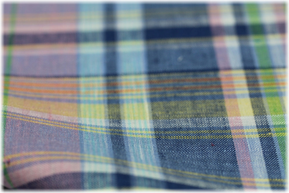 Downings Autumn - 100% linen fabric - irish linen - john hanna limited - bairdmcnutt