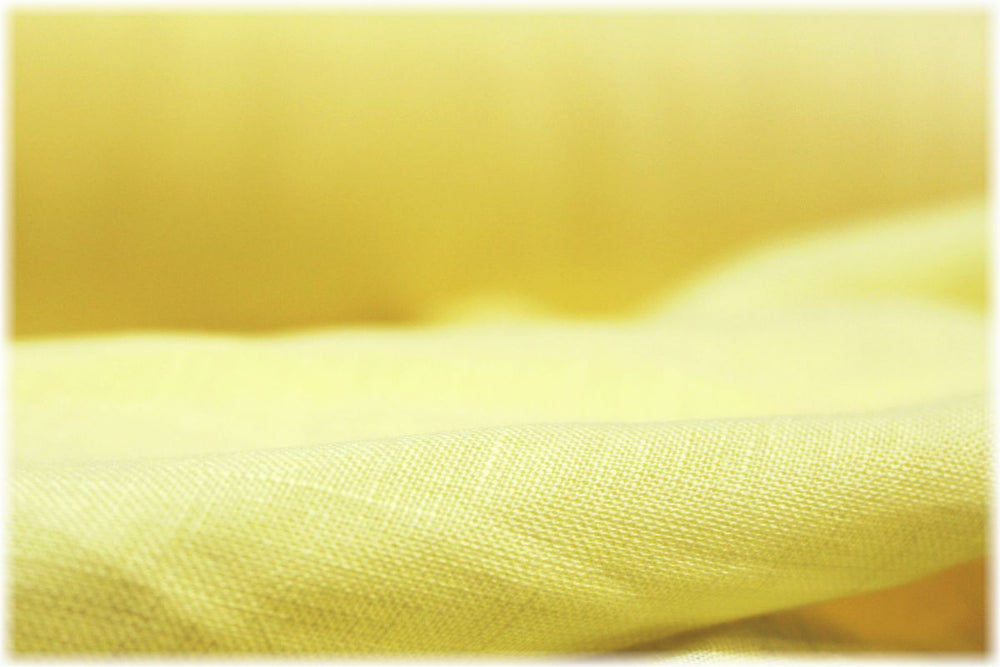 Sperrin - Lemon - 100% linen fabric - irish linen - john hanna limited - bairdmcnutt