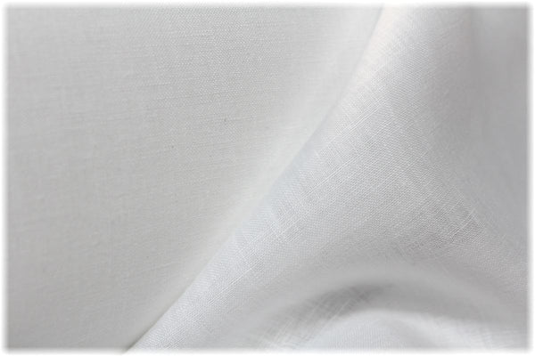 Sperrin - White - 100% linen fabric - irish linen - john hanna limited - bairdmcnutt
