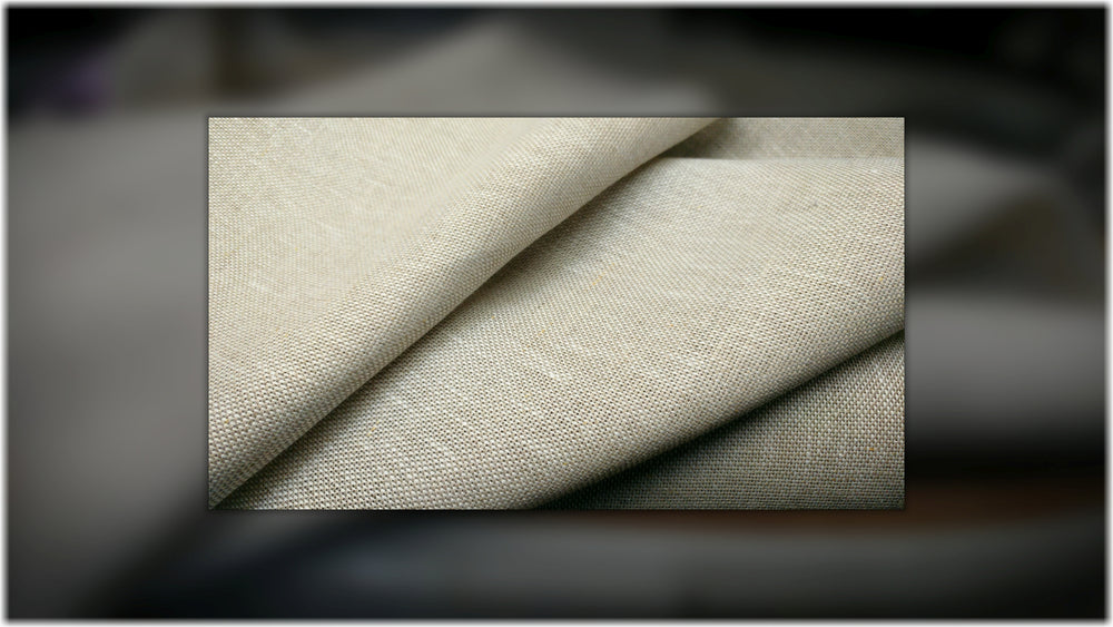 Tardree Oatmeal - 100% linen fabric - irish linen - john hanna limited - bairdmcnutt