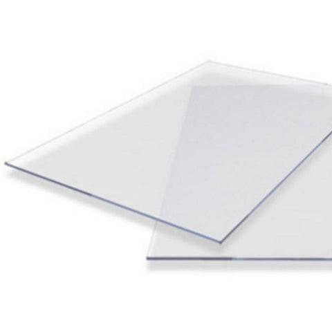 4mm Clear Solid Polycarbonate-Axgard-PVC-CRD