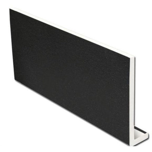 9mm Black Ash Fascia Capping Board 5m