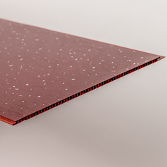 Aqua 250 Red Sparkle PVC Bathroom Wall Cladding 2700mm x 250mm x 5mm (Pack of 4)