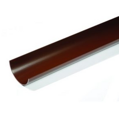 Brown Round Gutter 4mt Length  112mm