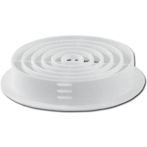Circular Soffit Vent White