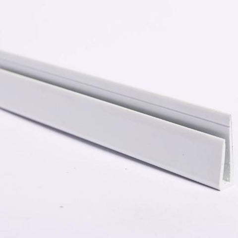 Hygienic Wall Cladding Capping Strip-CleanClad-PVC-CRD