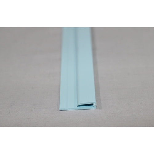 Hygienic Wall Cladding Capping Strip Pastel Blue