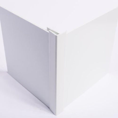 Hygienic Wall Cladding External Corner Joint-CleanClad-PVC-CRD