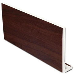 Rosewood PVC 5m Fascia Capping Board 9mm