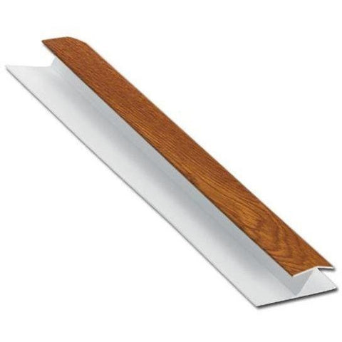 Shiplap H Section Jointing Trim Light Oak-Eurocell-PVC-CRD