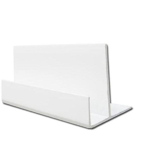 Shiplap Starter Batton Trim White 125mm