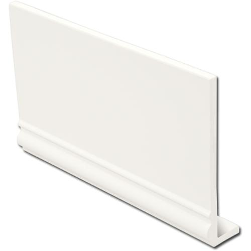 White Ogee Capping Fascia Boards 9mm x 5mtr