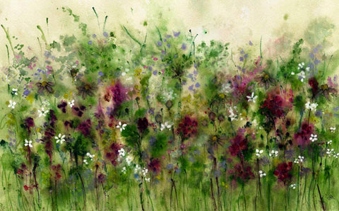 Beyond The Meadow Original Painting