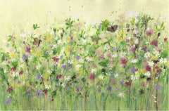 Butterfly Meadow Original Painting