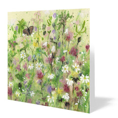 Butterfly Meadow 14cm x 14cm (Pack of five)