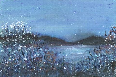 By Still Waters Original Painting