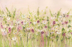 Daisy Field Original Painting