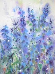 Bluebells No2 Original Painting