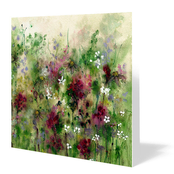 Beyond the Meadow Card 14cm x 14cm (Pack of five)