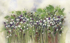 Snowdrops Original Painting