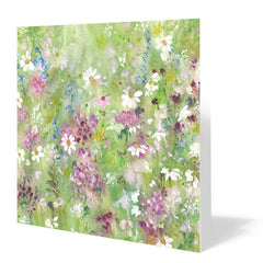 Springtime Joy Card 14cm x 14cm (Pack of five)