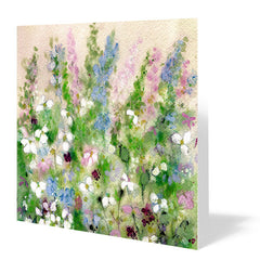 Springtime Melody Card 14cm x 14cm (Pack of five)