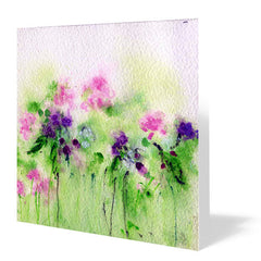 Summer Card 14cm x 14cm (Pack of five)