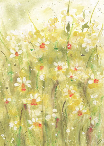 Sunshine in Spring Original Painting