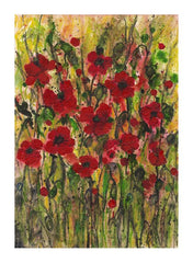 'We Will Remember' Original Mixed Media painting