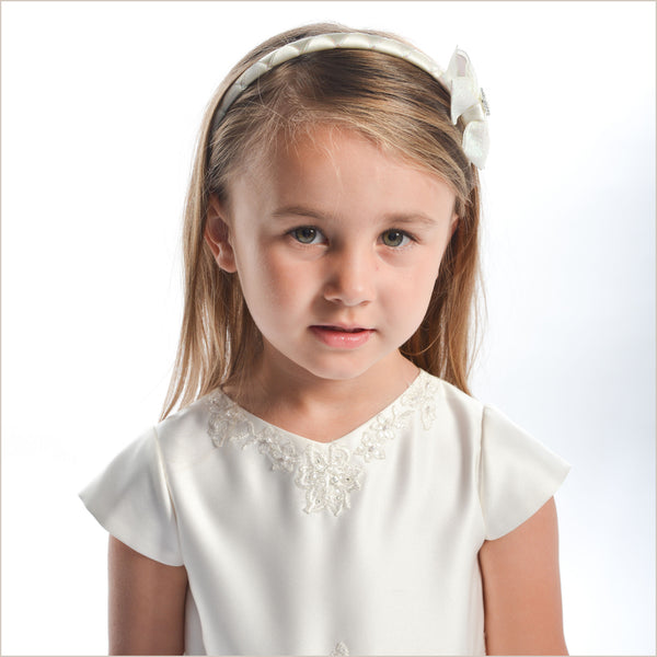 Sarah Louise 70027 Emily Ivory Flower Girl Dress