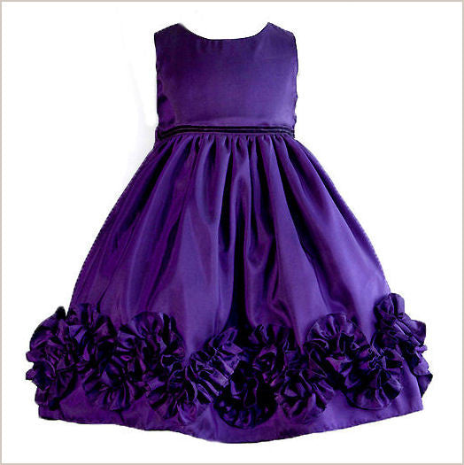 Charis Taffeta Ruffle Dress