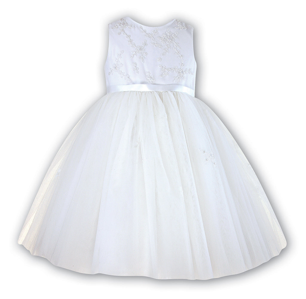Mia Ivory Flower Girl Dress by Sarah Louise 70035