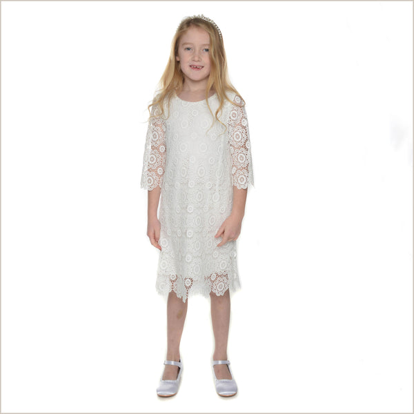 Theme informal flower girl dress