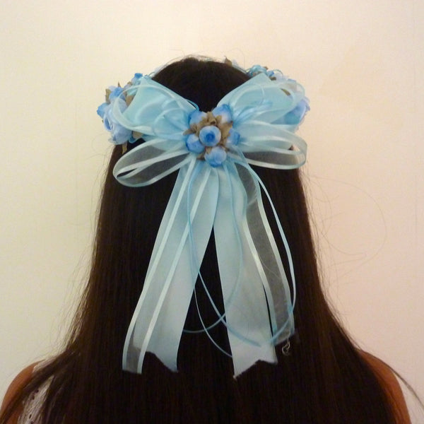 Blue Floral Crown 47