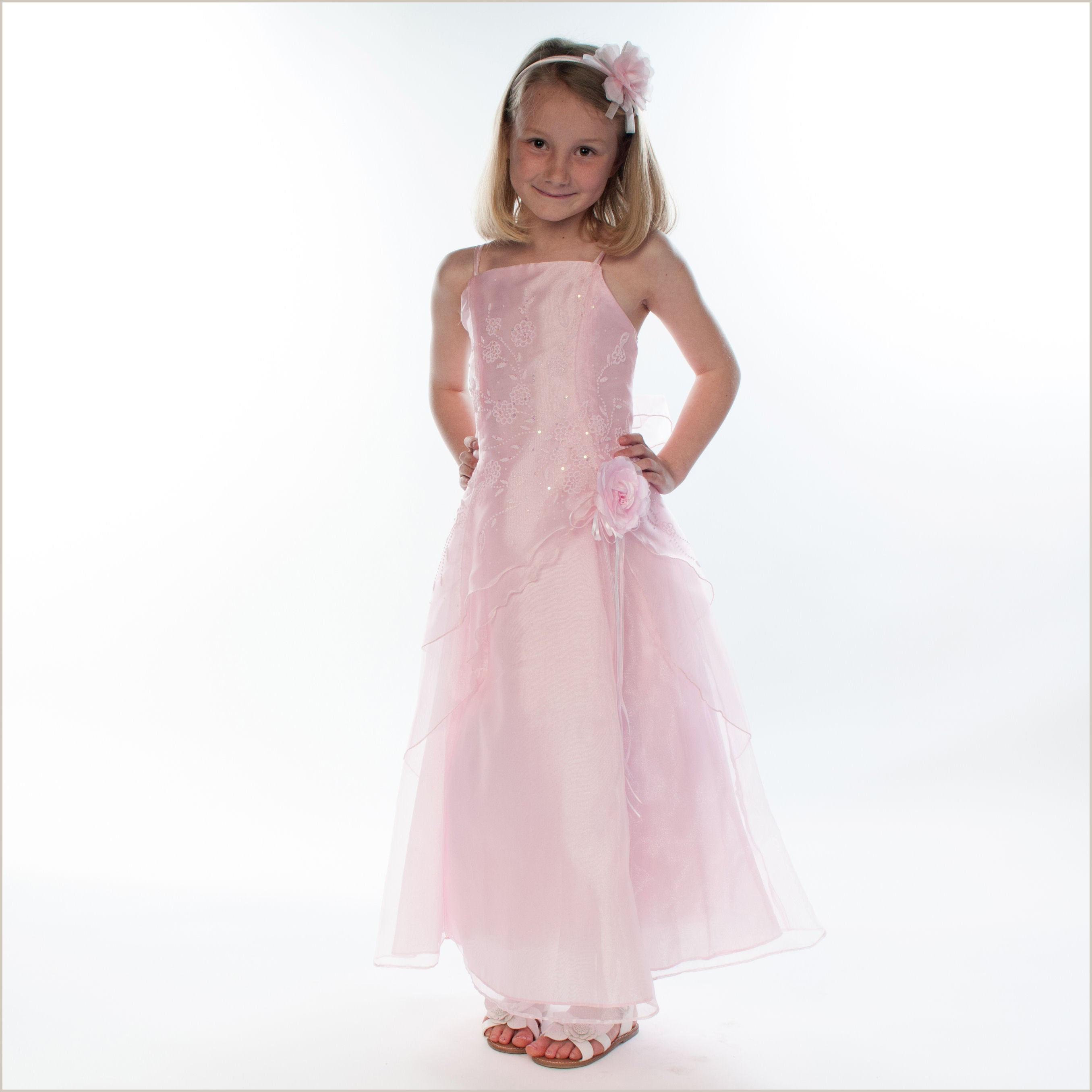 Pia baby pink junior bridesmaid dress demigella flower girl pia baby pink junior bridesmaid dress ombrellifo Gallery