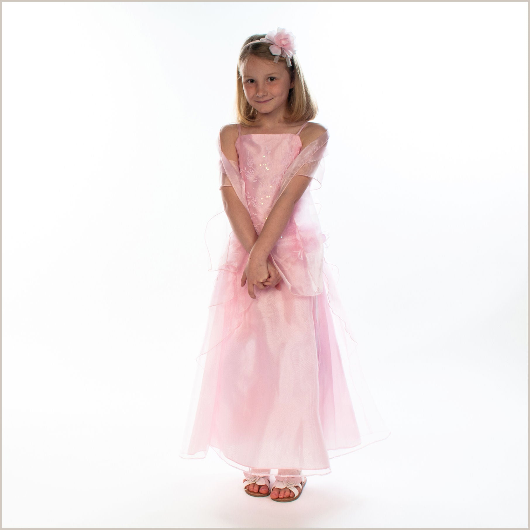 Pia baby pink junior bridesmaid dress ombrellifo Image collections