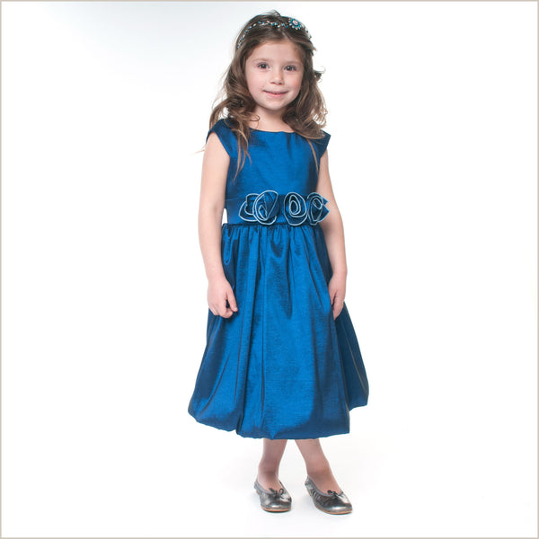 Blue Flower Girl Dresses & Childrens Bridesmaid Dresses