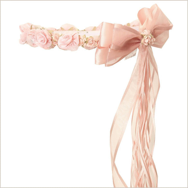 Blush or Dusky Pink Floral Crown