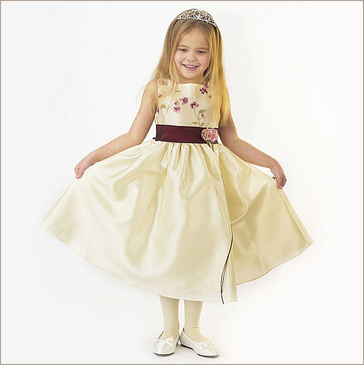 ... white puffy tulle sleeveless embroidered halter beautiful flower girl  dress ...