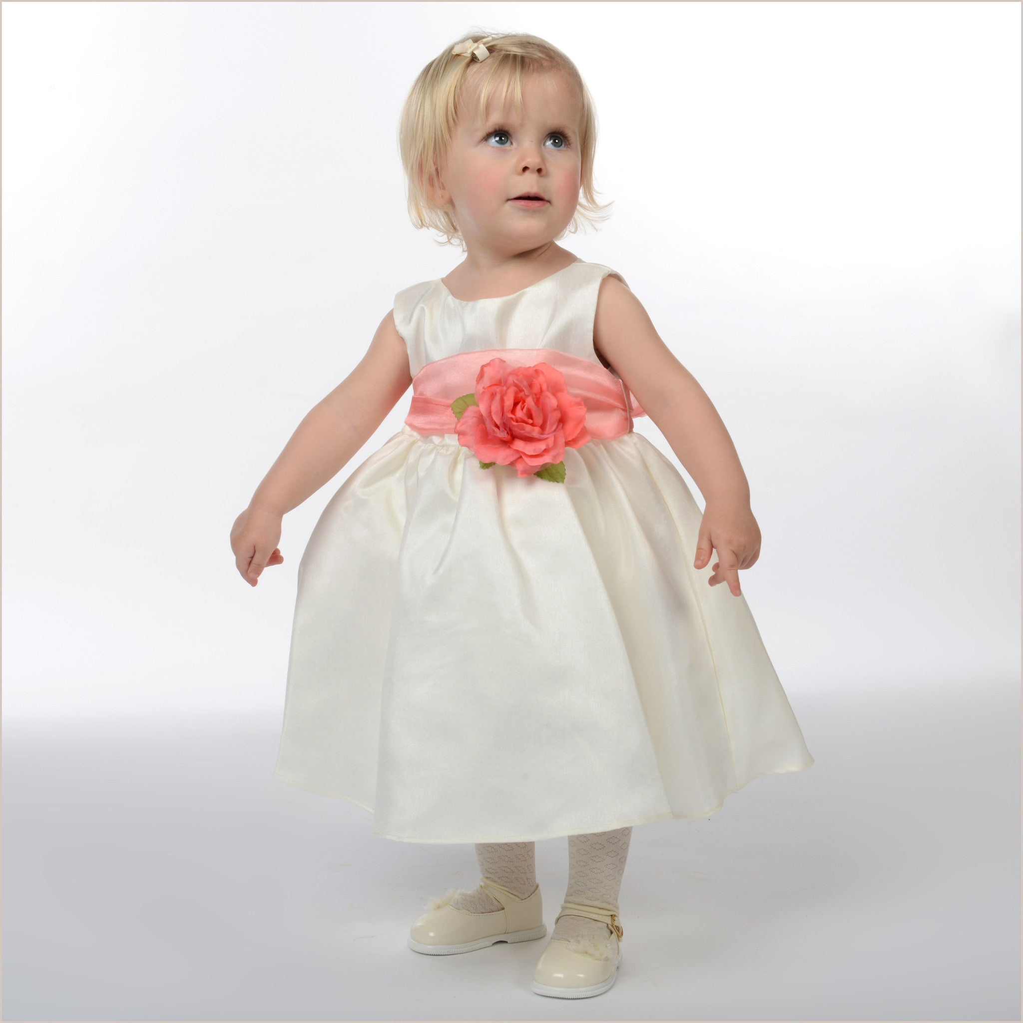 Ivory Young Flower Girl Shoes